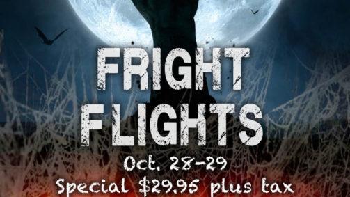 Orlando Tree Trek Halloween Flyer