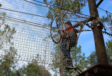 Orlando Tree Trek Adventure Park.