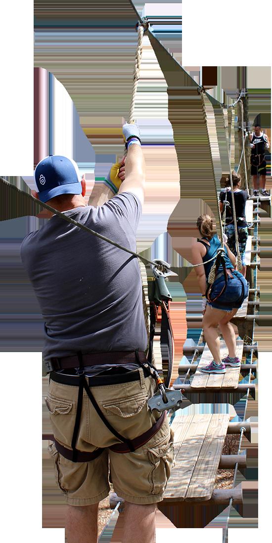 Team Building Orlando Zipline Tree Trek Adventure Park Photo 2