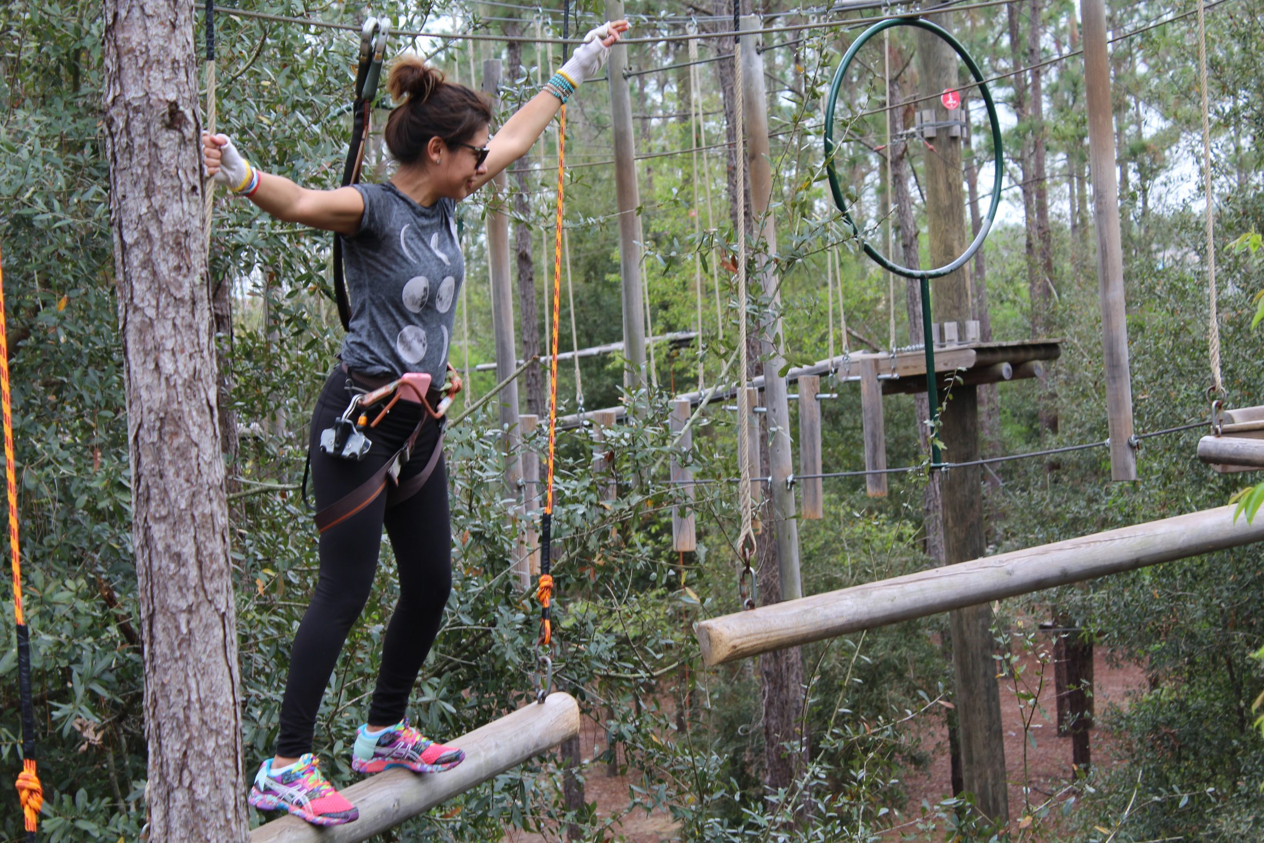 People who can participate in a ropes course