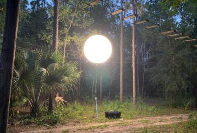 Orlando Tree Trek night climbs